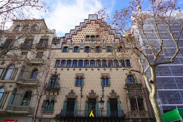Casa Amatller façade