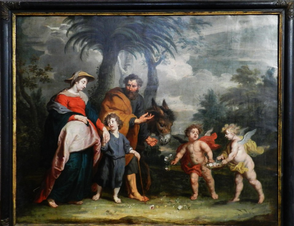 pintura Museo de Catedral de Santa Maria de la Asuncion Coria Caceres 05