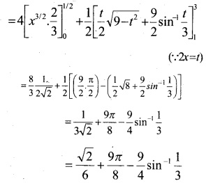 Plus Two Maths Chapter Wise Questions and Answers Chapter 8 Application of Integrals 15