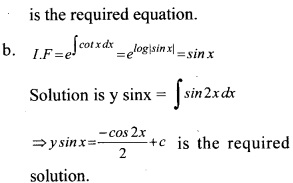 Plus Two Maths Chapter Wise Questions and Answers Chapter 9 Differential Equations 41