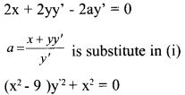 Plus Two Maths Chapter Wise Questions and Answers Chapter 9 Differential Equations 28