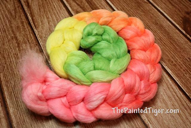 Hibiscus Alpaca Merino Silk Smooth Gradient