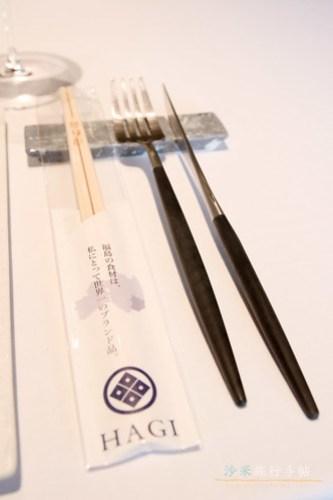 ▲他連筷子都用上會津杉來造。