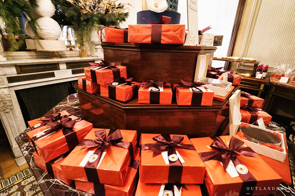 Demel's cafe chocolate boxes