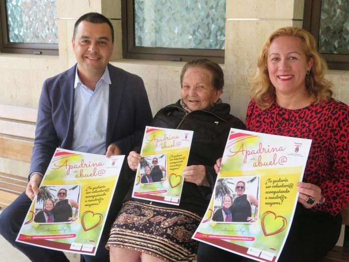 El Ayuntamiento de Guía impulsa la campaña de voluntariado 'Apadrina un abuelo'