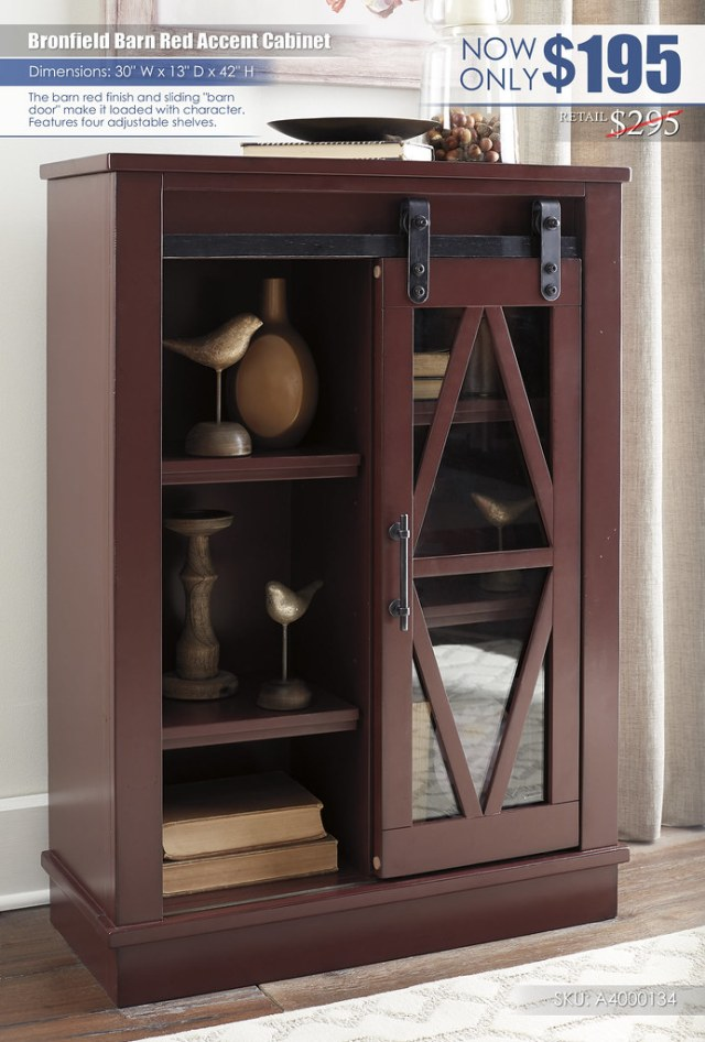Bronfield Barn Red Accent Cabinet_A4000134