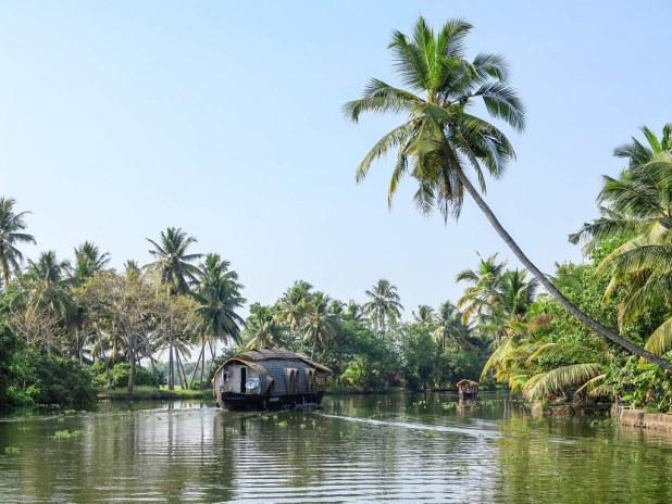 Backwaters de Kerala