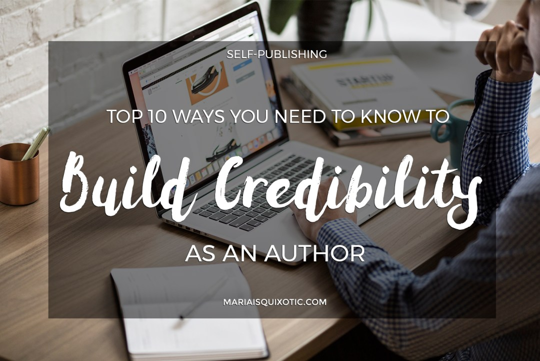 How will You Build Credibility as an Author?