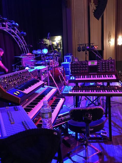 Pre sound check w/The Machine, Suffolk Theater LI