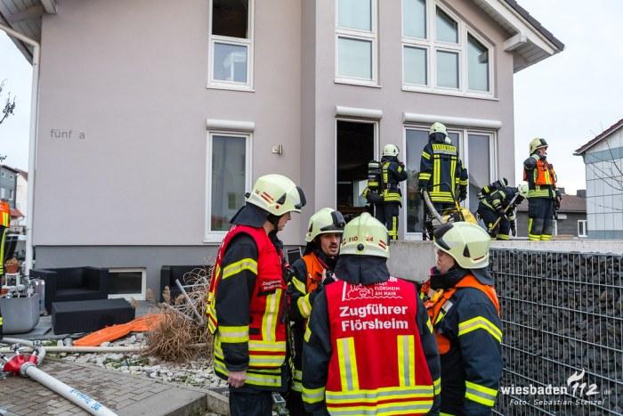 Verpuffung in Ofen Kelkheim-Keramag 05.02.19