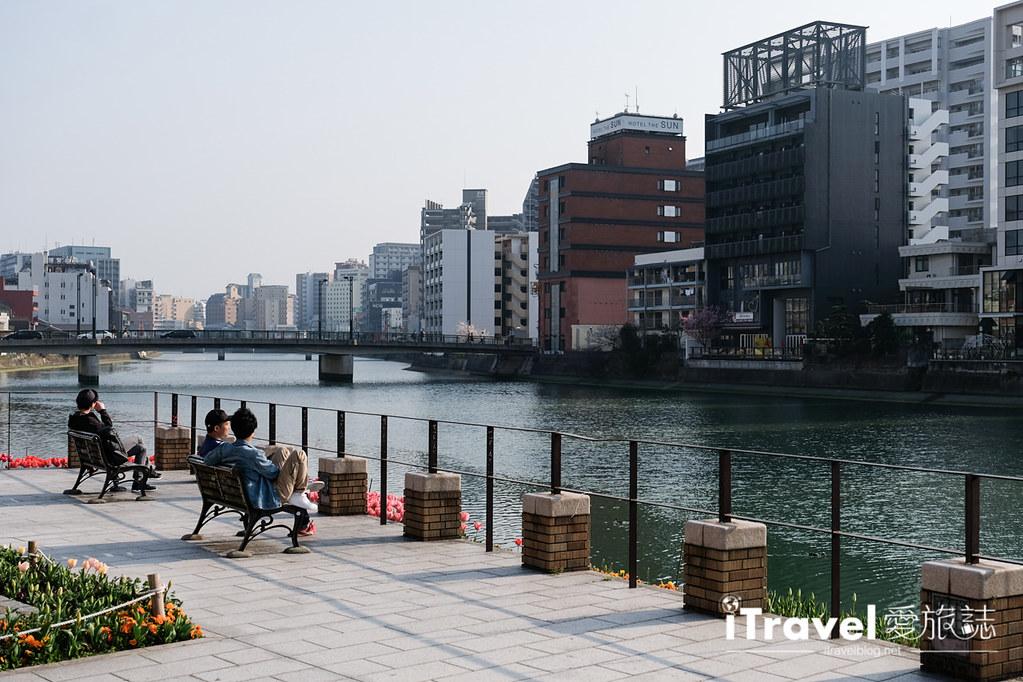 福岡賞櫻景點 博多清流公園 (25)