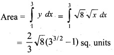 Plus Two Maths Chapter Wise Questions and Answers Chapter 8 Application of Integrals 6