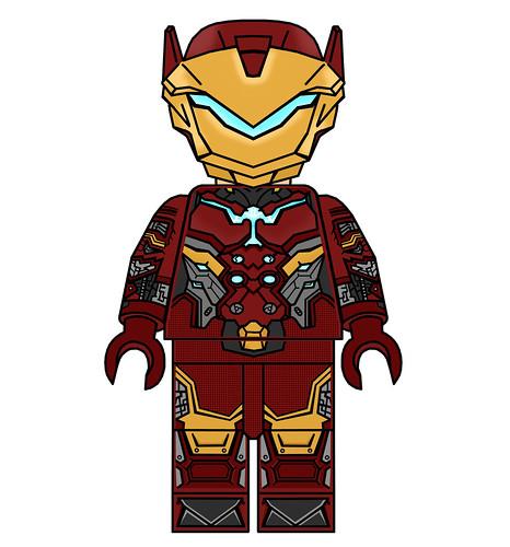 Custom Edit Overwatch Iron Man Minifigure !!!