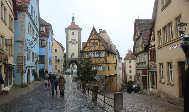 The Plonlein in Rothenburg ob der Tauber