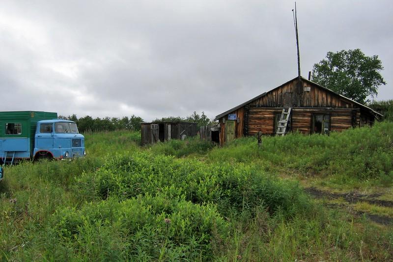 Ручей Водопадный, Камчатка, база вулканологов