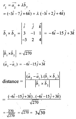 Plus Two Maths Chapter Wise Questions and Answers Chapter 11 Three Dimensional Geometry 26