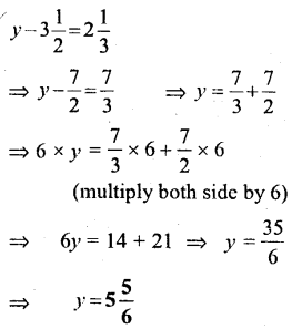 Selina Concise Mathematics Class 6 ICSE Solutions - Simple (Linear) Equations (Including Word Problems) - c5s