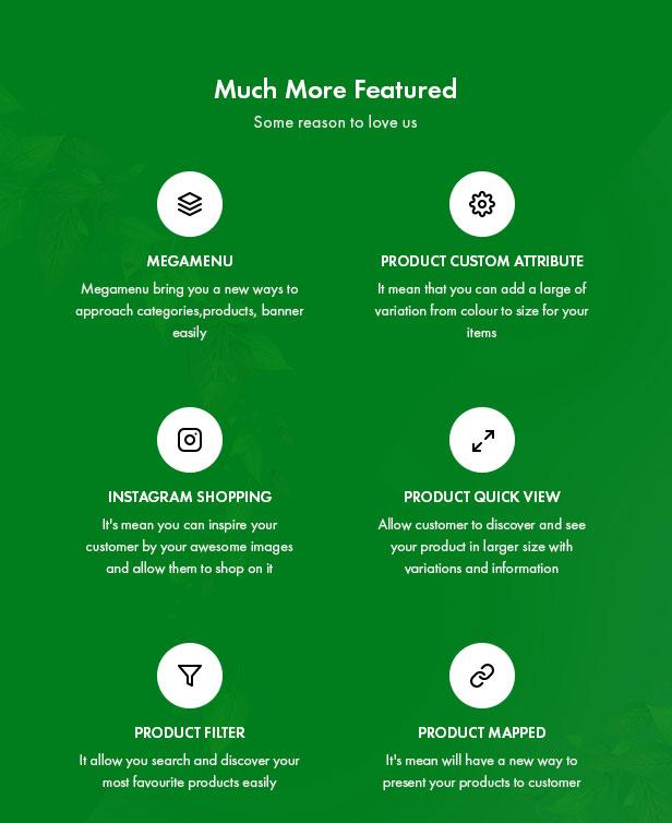 Leo Zlin - best prestashop tea shop theme - Powerful Modules