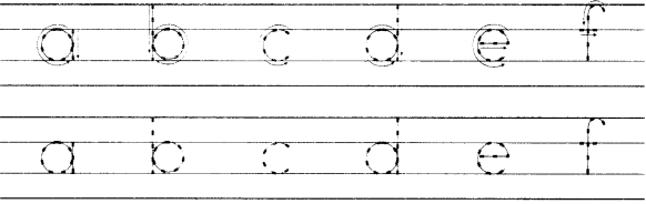 NCERT Solutions for Class 1 English Chapter 10 Circle 6