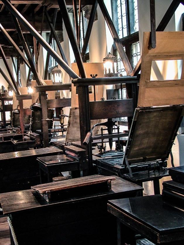 Plantin-Moretus Museum, Antwerp, Belgium