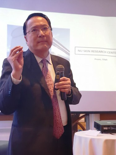 Dr. Joseph Chang, Nu Skin Chief Scientific Officer