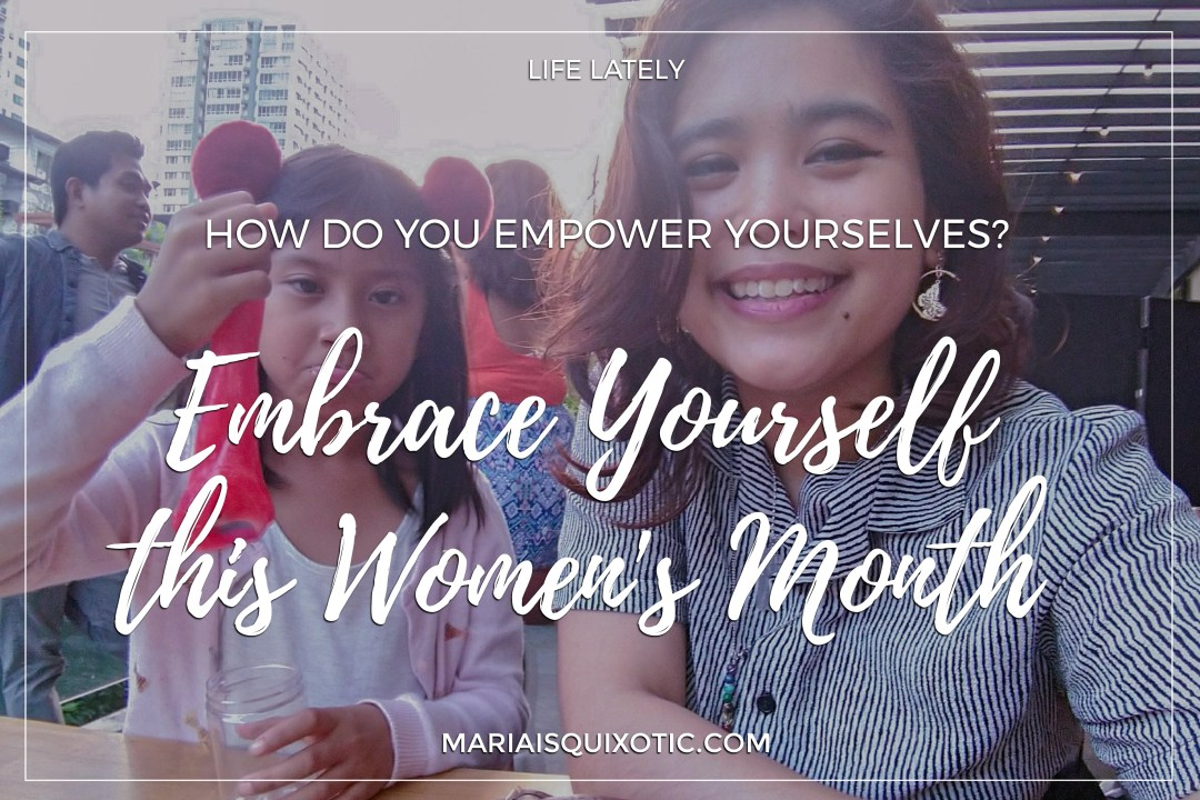 Embrace yourself this women's month
