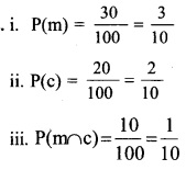 Plus Two Maths Chapter Wise Questions and Answers Chapter 13 Probability 1