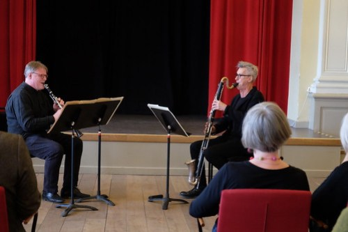 Stefan Harg klarinett Boa Pettersson basklarinett