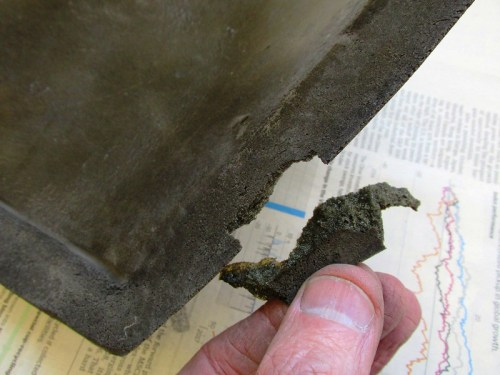 Small Torn Piece of Cowl Foam
