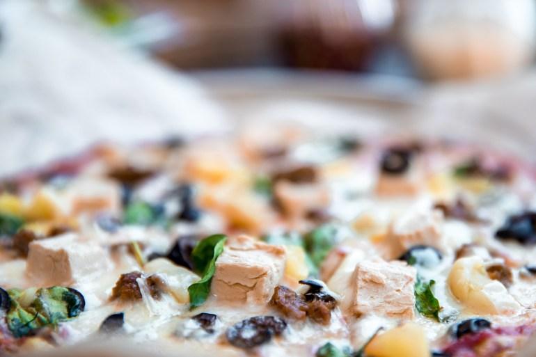 Pieology Plant Proteins - Vegan Pizza