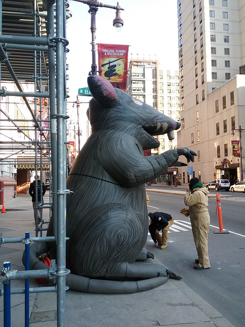 Inflatable Vermin