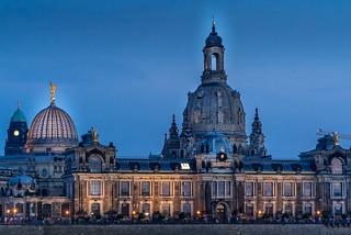 Stadtbild mit Frauenkirche
