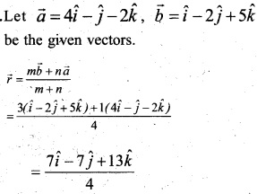 Plus Two Maths Chapter Wise Questions and Answers Chapter 10 Vector Algebra 5