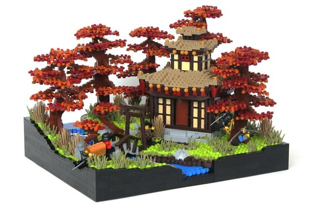 LEGO Oriental Forest House