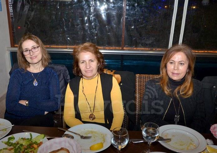 Ayşe Köseoğlu, Ayşe Karaca, Nuran Çavuşoğlu.
