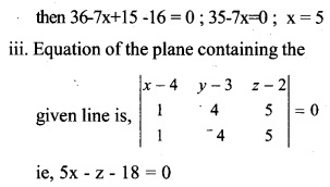 Plus Two Maths Chapter Wise Questions and Answers Chapter 11 Three Dimensional Geometry 31