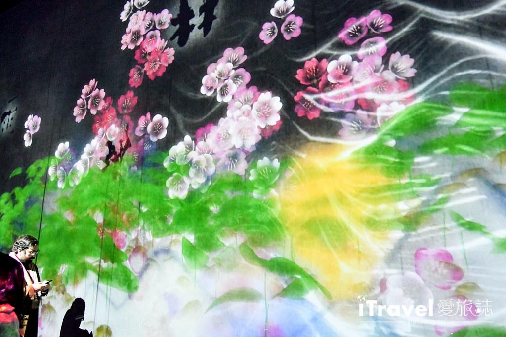 東京藝術展覽 teamLab Borderless (101)