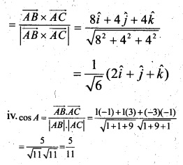 Plus Two Maths Chapter Wise Questions and Answers Chapter 10 Vector Algebra 57