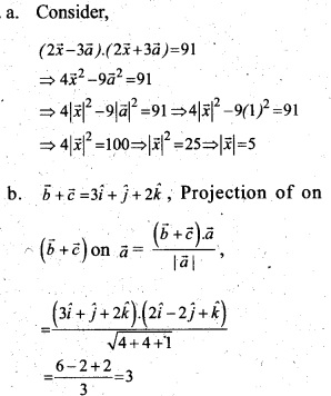 Plus Two Maths Chapter Wise Questions and Answers Chapter 10 Vector Algebra 32