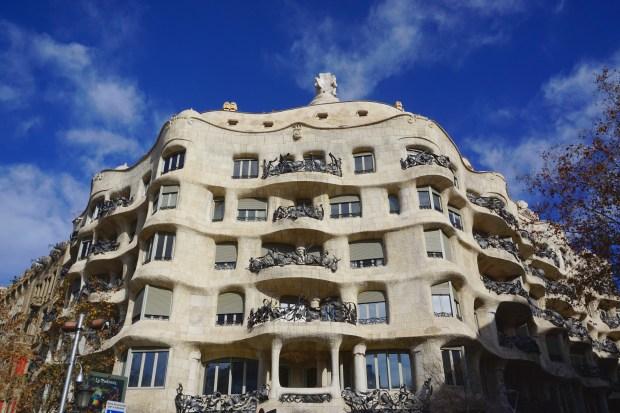 Casa Milà façade