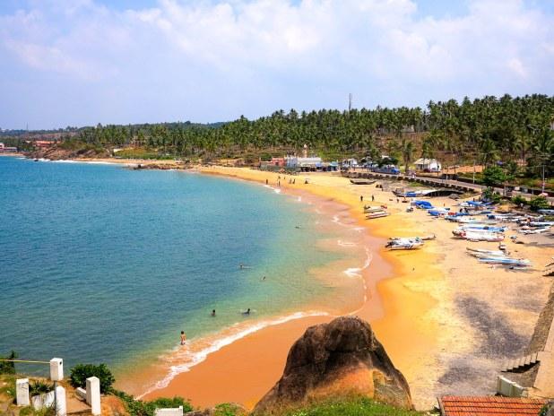 Kovalam es un destino de playa