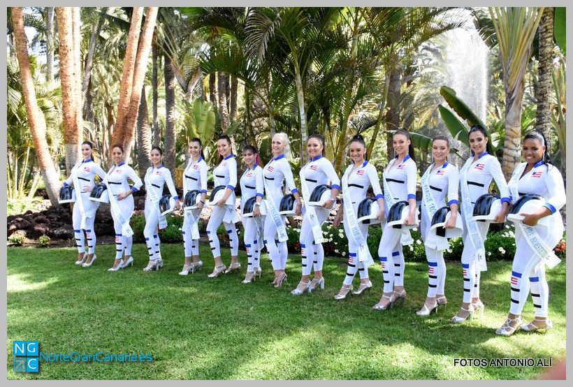 Presentación de las 28 candidatas que conforman la tripulación de la nave espacial con destino a la Luna de Maspamoon