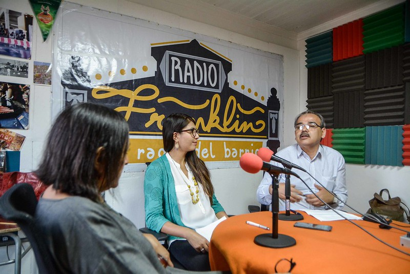 Género y participación ciudadana en Radio Franklinna