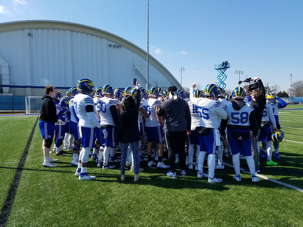 Spring Football Practice