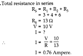RBSE Solutions for Class 10 Science Chapter 10 Electricity Current AS Q15s