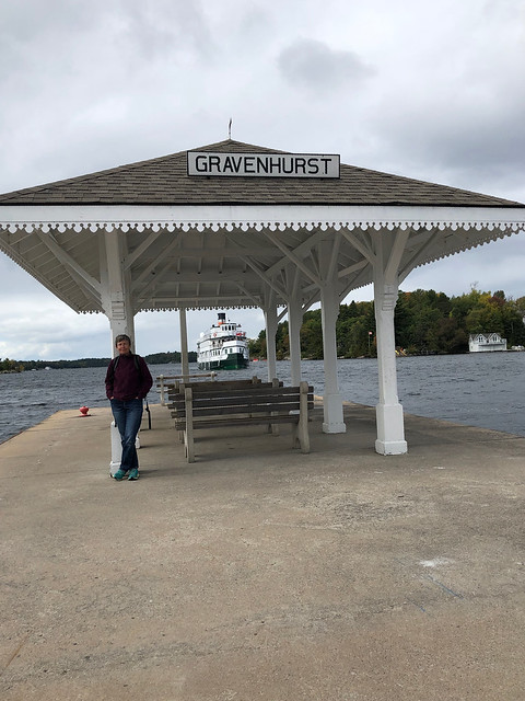 Gravenhurst - Linda at the pier