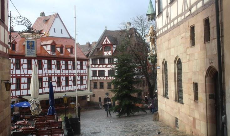 The house of Albrecht Dürer, Nuremberg, Germany