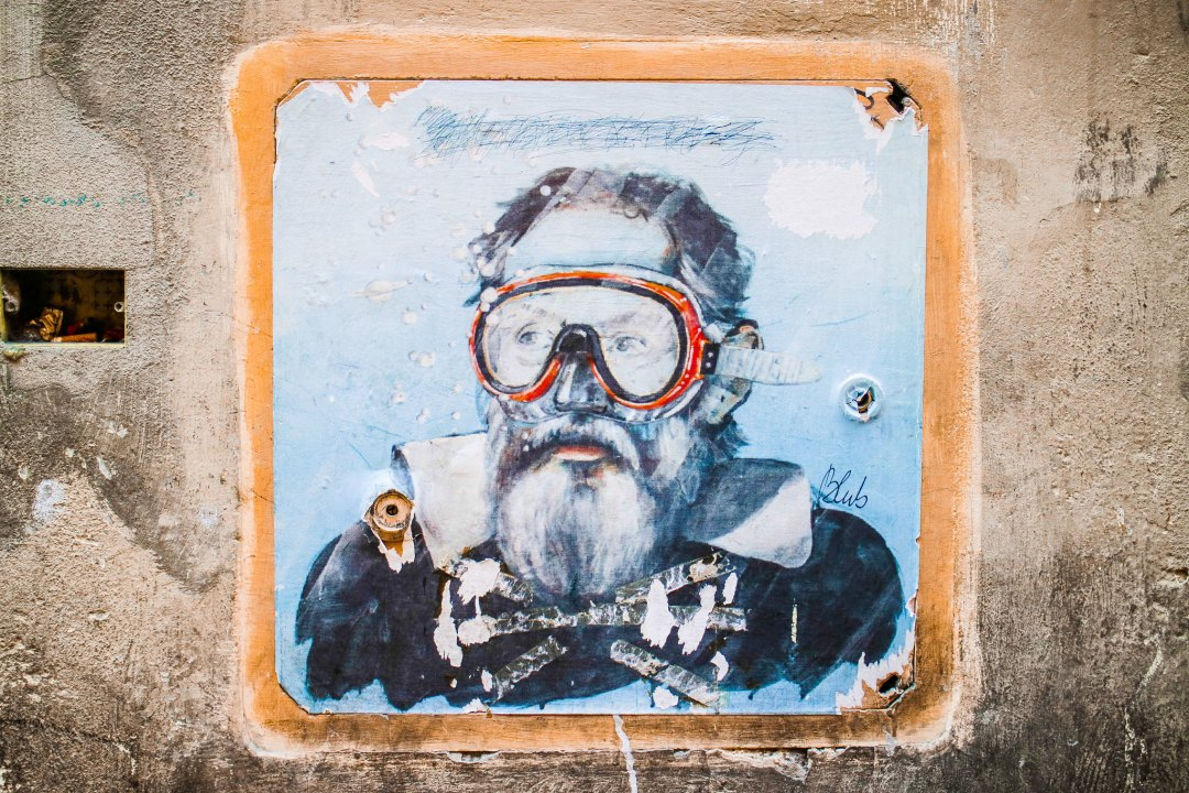 Street art in Florence: Blub
