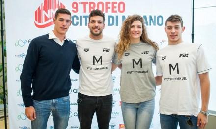 9° Trofeo Città di Milano, la presentazione con Andrea Vergani, Gabriele Detti e Ilaria Cusinato