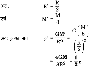 RBSE Solutions for Class 9 Science Chapter 10 Gravity 23